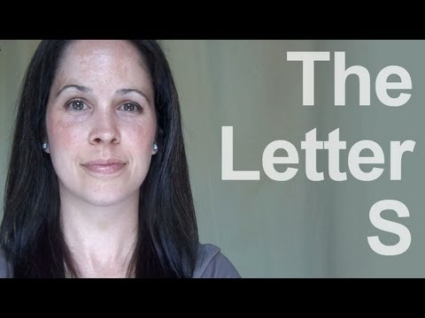 How to Pronounce the Letter S - American English