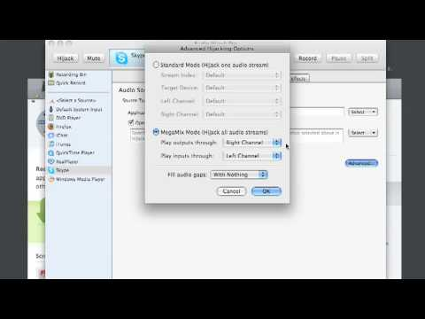 Record Skype Calls in Stereo using Audio Hijack Pro