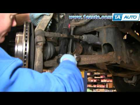 How To Install Repair Replace Front Shock Absorbers Dodge Ram 02-08 1AAuto.com
