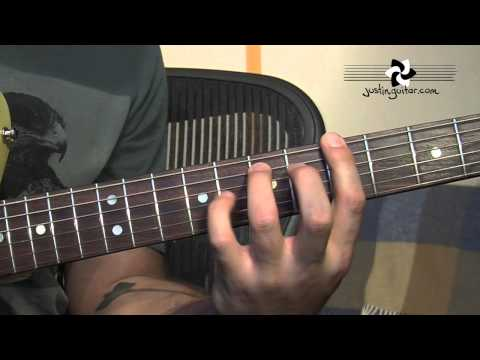 12 Bar Blues Sequence Variations (Blues Rhythm Guitar - Guitar Lesson BL-203) How to play