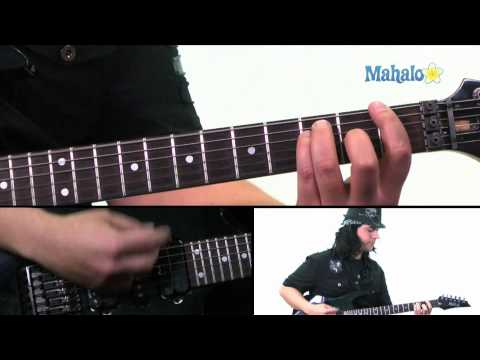 """How to Play """"Astro Zombies"""" by The Misfits on Guitar (Practice Cover)"""