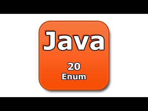 Java Tutorial - 20 - Enum