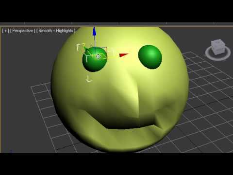 3Ds Max Tutorial - 14 - Editable Polygons