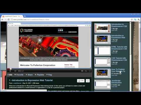 18 - Introduction to Dreamweaver CS5 - Publishing Your Website To The Internet with Dreamweaver