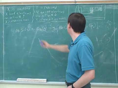 Chemistry: Balancing redox reactions (5)