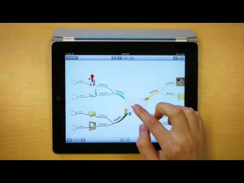 Audio Notes - iMindMap HD for iPad Quick Tips