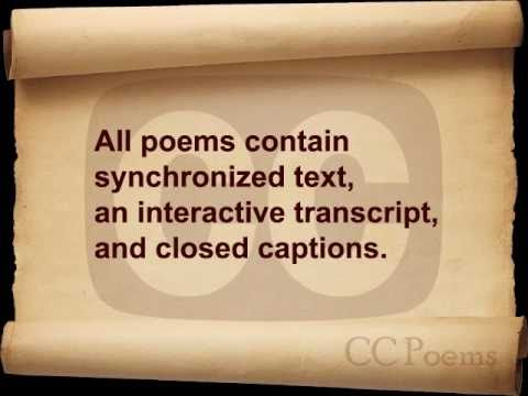 Welcome to CC Poems!