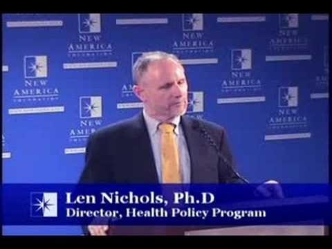 Len Nichols on the State of US Healthcare