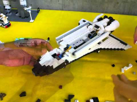 Building a Lego Space Shuttle