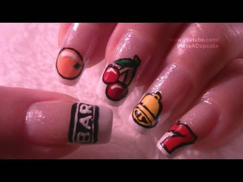 Slot Machine Nail Art Tutorial