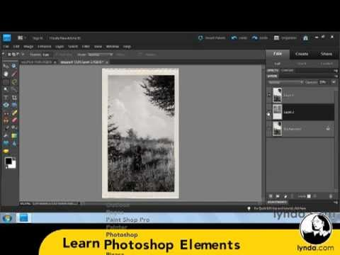 lynda.com Podcast Episode 226 | Photoshop Elements 9: Scanning and Restoring Photos