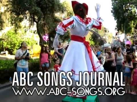 ABC Song Ms Clowness class video lesson 1 lunch rest & fun break, by ABCs songs journal
