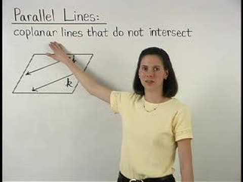 Definition of Parallel Lines - YourTeacher.com - Geometry Help