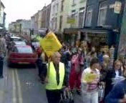 procession In Aberystwyth
