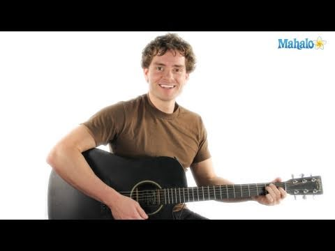 How to Play Brown Eyed Girl by Van Morrison on Guitar