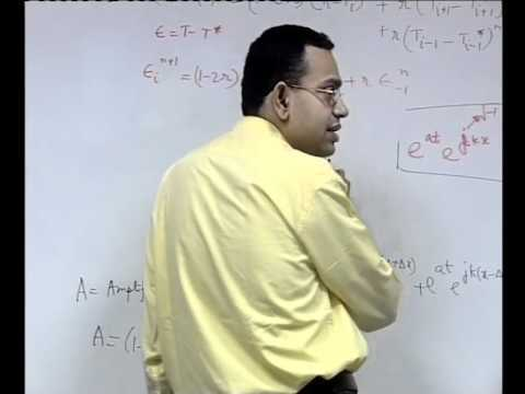 Mod-01 Lec-17 Important Consequences of Discretization of Time Dependent Diffusion