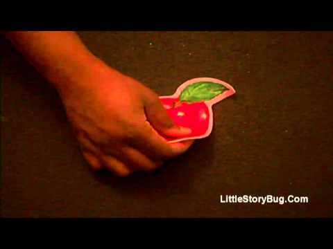 Felt Board Activity for preschool - Healthy Foods - Littlestorybug