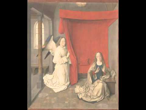 The Annunciation, Dieric Bouts,