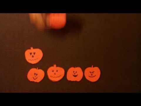 Halloween songs for Children -  One Little, Two  Little, Three Little Pumpkins - Littlestorybug