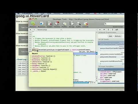 Google I/O 2010 - Google Chrome's developer tools