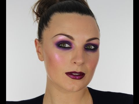 PURPLE PARTY MAKE-UP