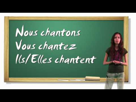 French Lesson 4 - Infinitive Verbs, Present Tense and Days of the Week - girls4teaching.com