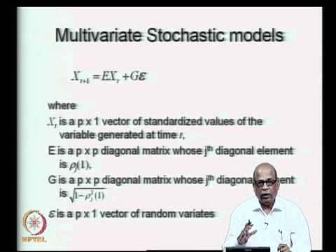 Mod-07 Lec-34 Multivariate Stochastic Models - II