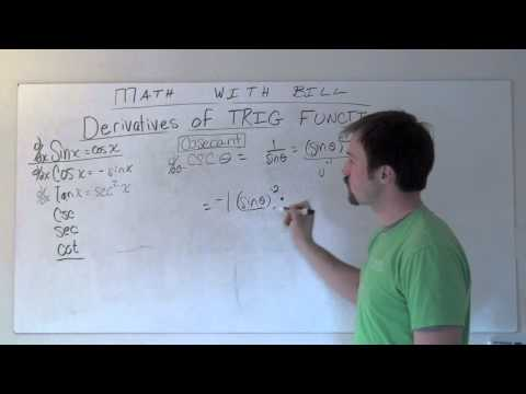 Derivative of Cosecant Function