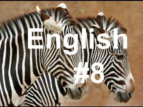 Learn Easy English Lesson #8 (American Accent) African Animals!