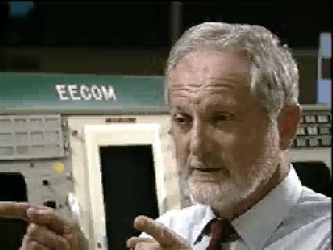 Sy Liebergot discusses Apollo 13 failure, 1