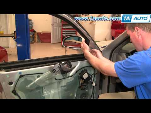 How To Install Repair Replace Broken Side Rear View Mirror Buick Lesabre 00-05 1AAuto.com