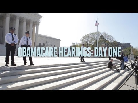 Obamacare at the Supreme Court: Day One