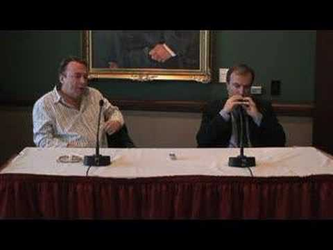 Hitchens vs. Hitchens Press Conference (4 of 5)
