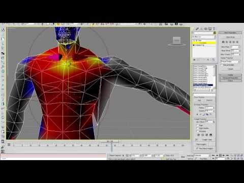 Importing & Rigging a Bloodelf in 3D Studio MAX Part 3
