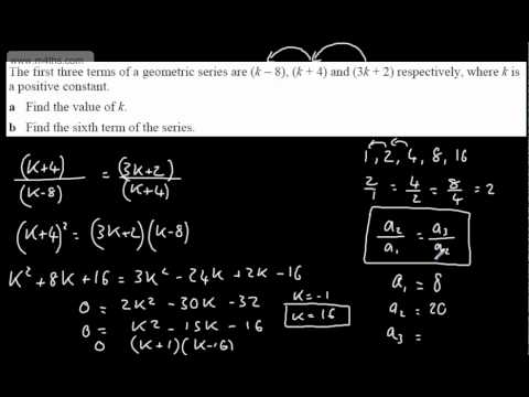 (4) C2 Geometric Sequences (nth term using formula)