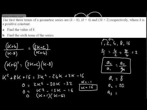 (4) C2 Geometric Sequences (nth term using formula)