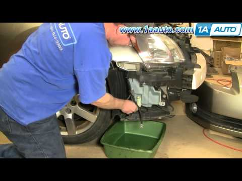 How To Install Replace Windshield Washer Bottle Reservoir Nissan Maxima 04-08 1AAuto.com