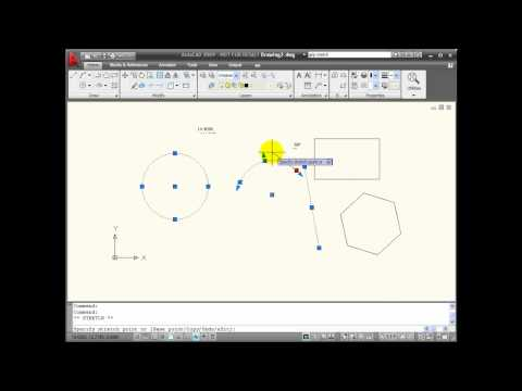 AutoCAD Tutorials - Using GRIP Selection