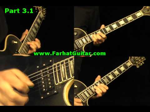 Back in Black AC/DC Guitar Cover  Part 3.1 Solo www.FarhatGuitar.com