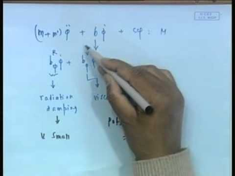 Mod-01 Lec-09 Uncoupled Heave,Pitch and Roll - V