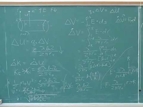 Application of Gauss's law to line symmetry (6)