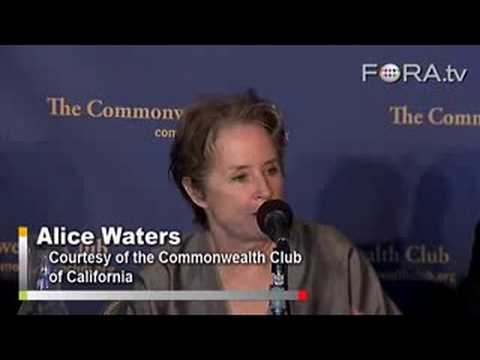 "Chef Alice Waters on ""Edible Education"""