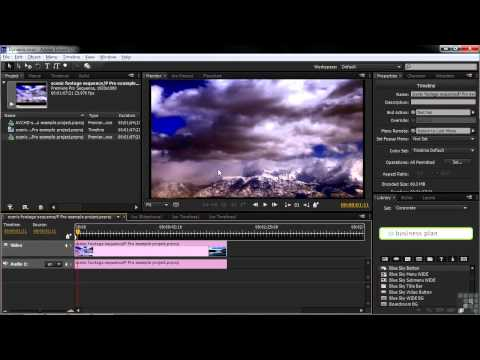 Adobe Encore CS6 Tutorial | Dynamic Link | InfiniteSkills