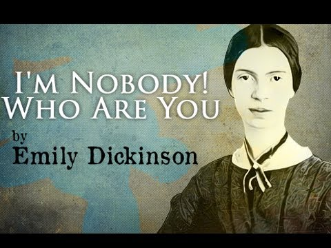I' m Nobody! Who Are You? By Emily Dickinson - Poetry Reading