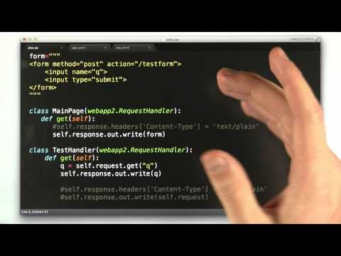The Method Attribute - CS253 Unit 2 - Udacity