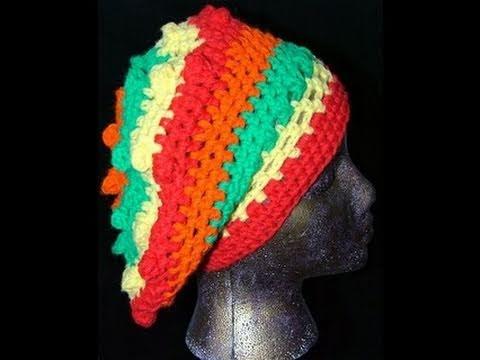 Crochet Beret Slouch Cap