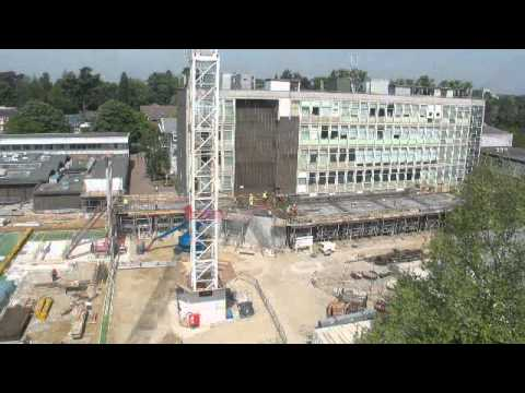 Construction progress, June 2011 - Sinclair