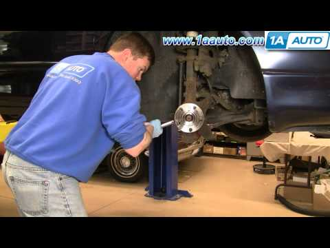 How To Install Repair Remove Front Wheel Bearing Hub Dodge Intrepid 93-04 1AAuto.com