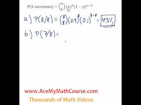 Binomial Distribution - Question #3