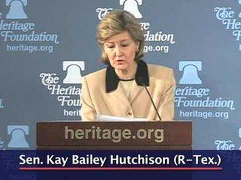 Sen. Hutchison on why the Burmese need gun rights